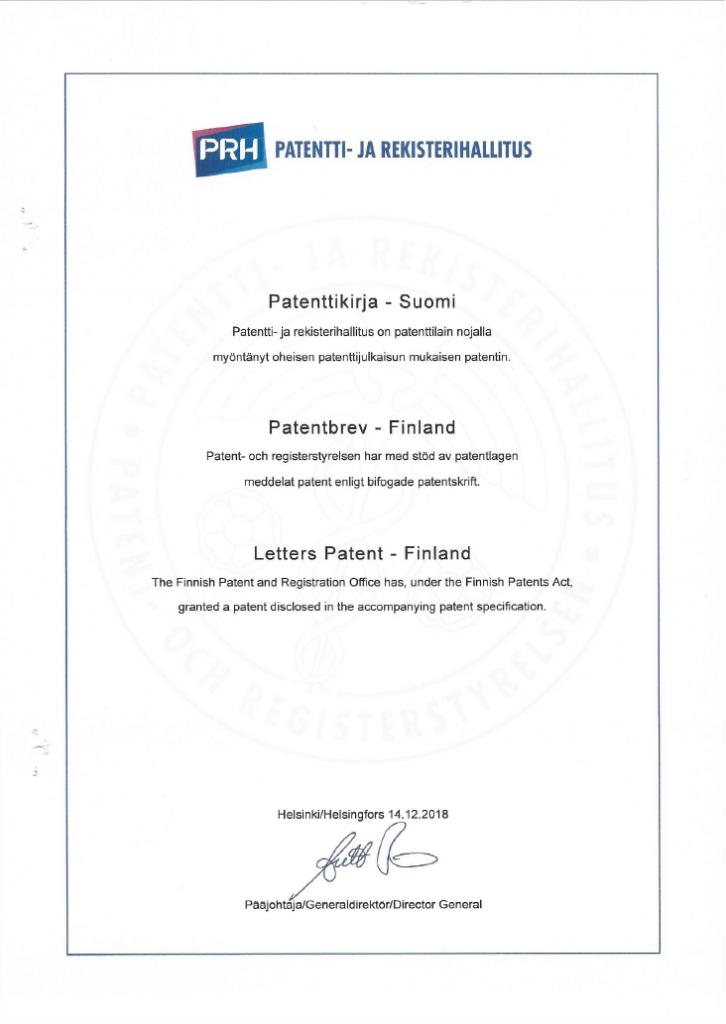 Verkotan patent