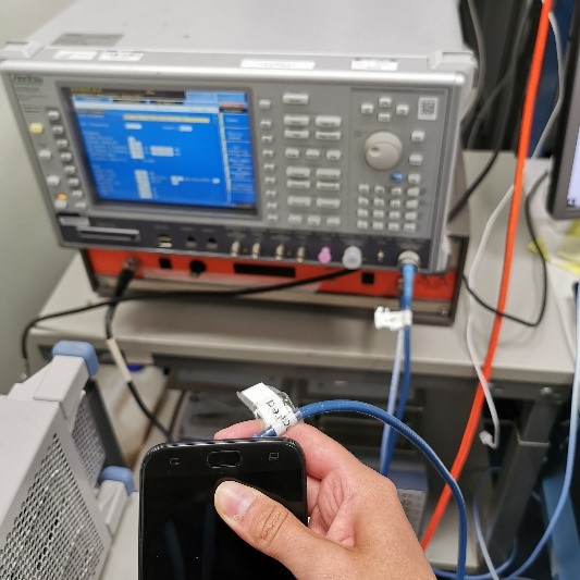 measurement of the conducted power