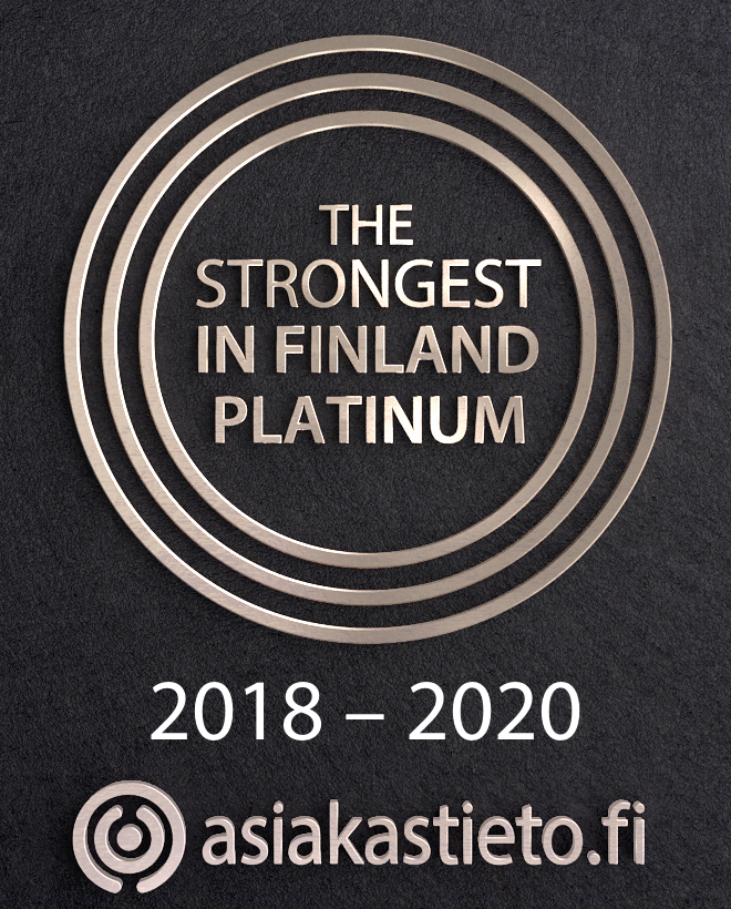 Verkotan Has The High Rating Alfa Credit Classification Granted by Suomen Asiakastieto Oy