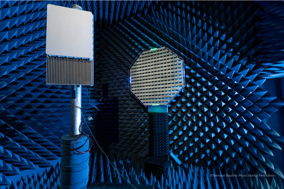 Picture of 5G beamforming