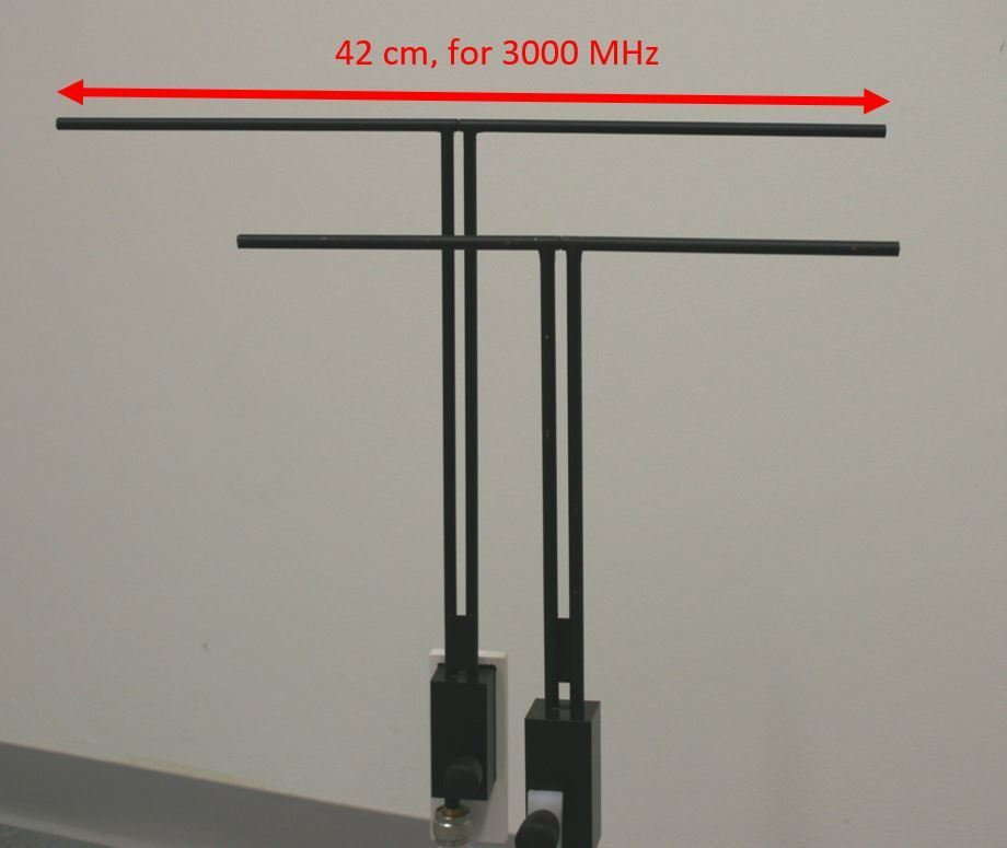 300MHz and 450MHz dipoles
