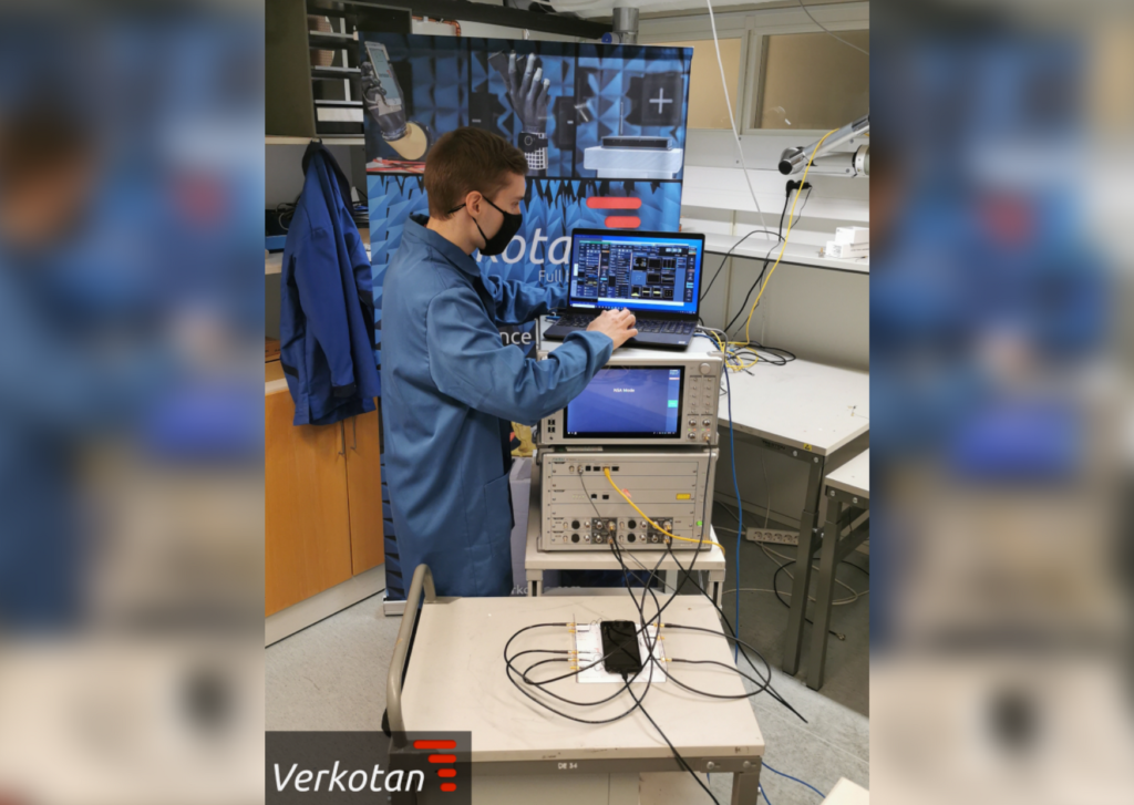 Anritsu and Verkotan collaborate to deliver 5G OTA Test Services for Mobile Devices