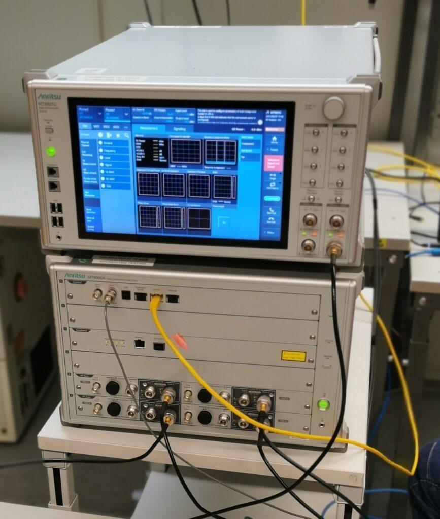 OTA testing instrument used in the OTA testing process