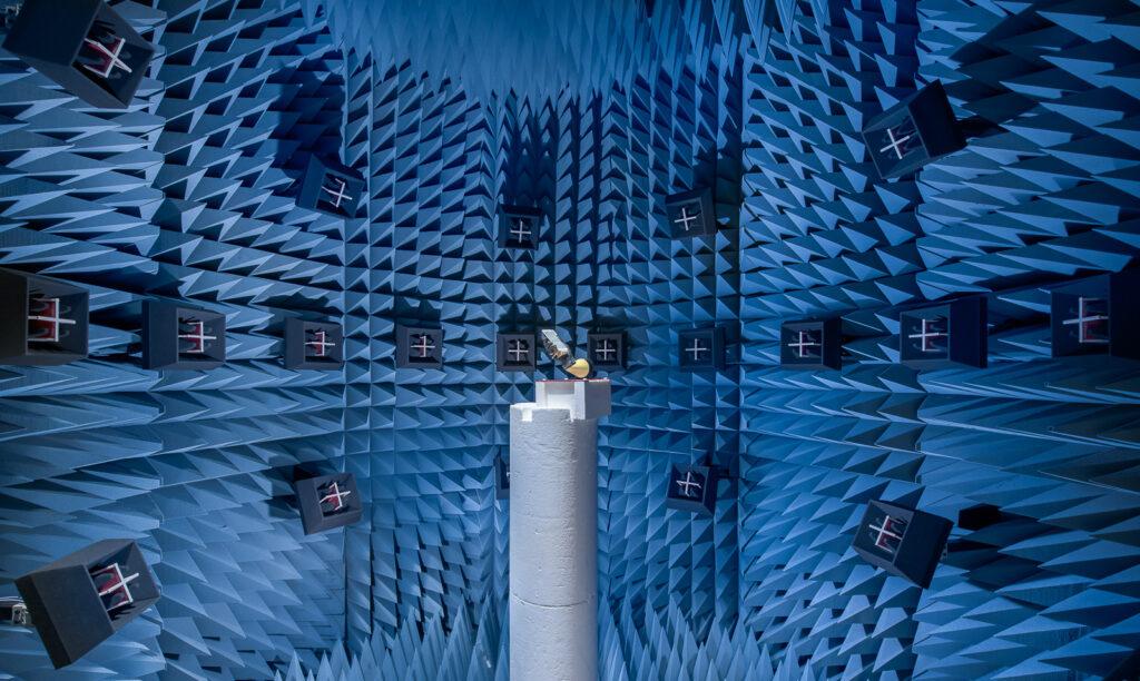 OTA testing chamber