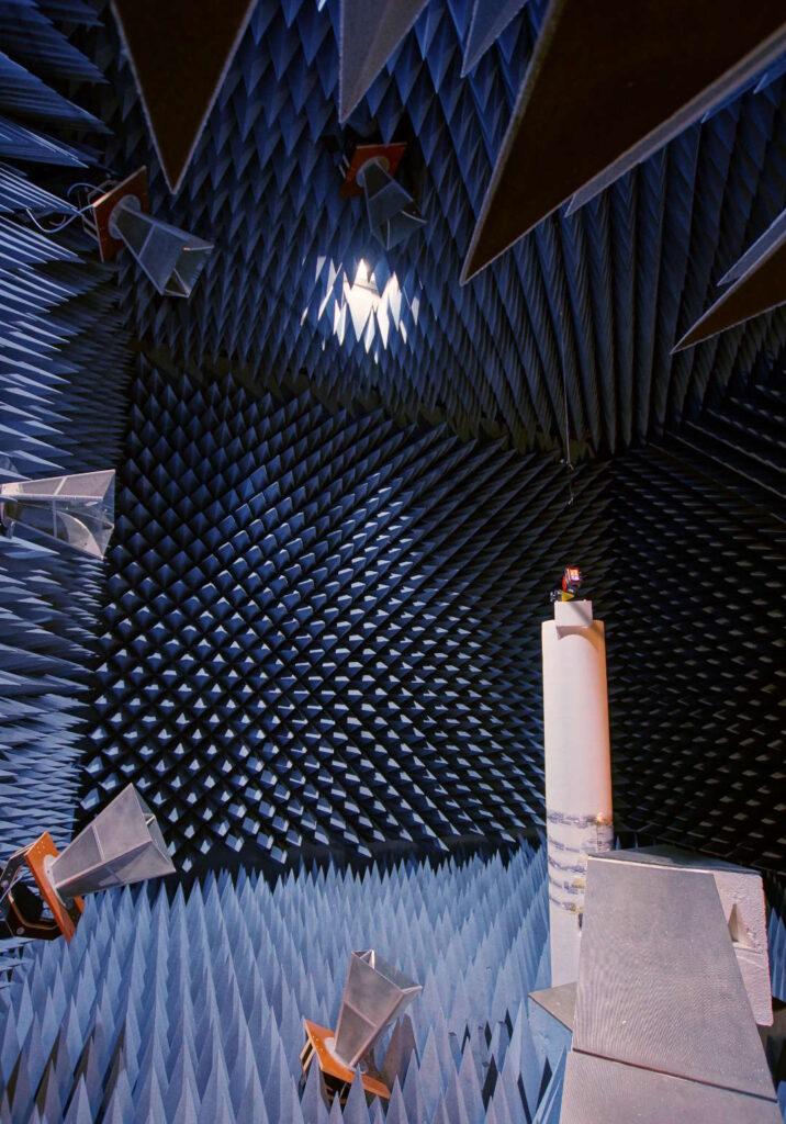 OTA test chamber